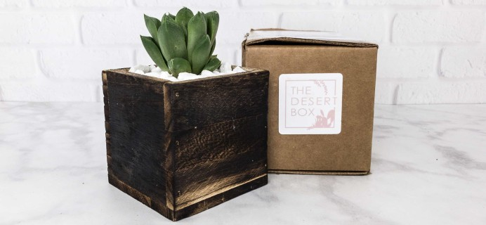 The Desert Box October 2017 Subscription Box Review