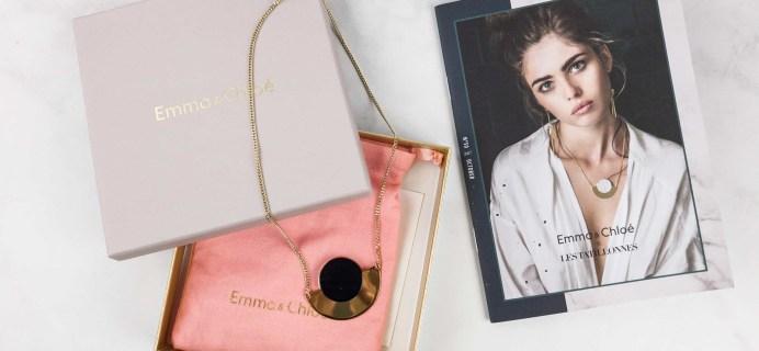 Emma & Chloe Subscription Box Review + Coupon – October 2017