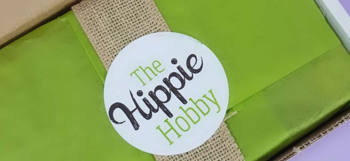 The Hippie Hobby Subscription Box Review & Coupon – September/October 2017