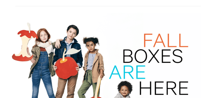 Kidbox Fall 2017 Boxes Are Here!