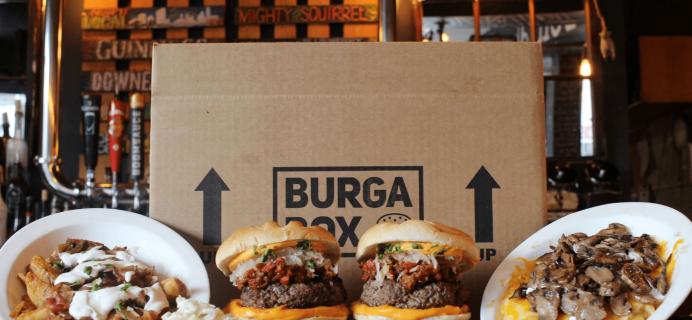 BurgaBox October 2017 Menu Available Now + Coupon!