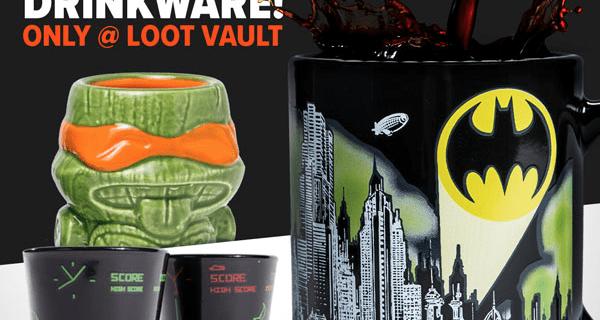 Loot Vault 30% Off Drinkware Sale!