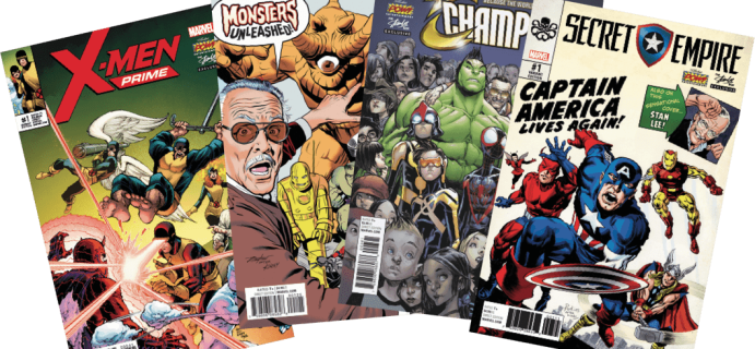 The Stan Lee Comicbook Box August 2017 FULL Spoilers + Coupon!