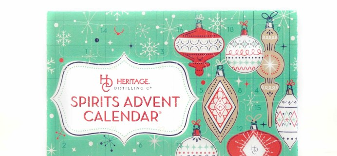 2017 Heritage Distilling Co. Advent Calendar Available Now!