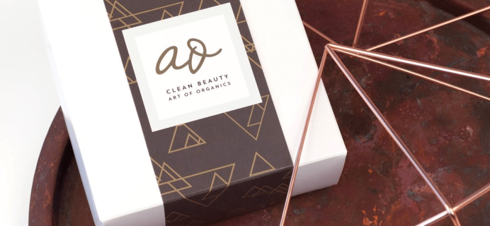 The Clean Beauty Box by Art of Organics October 2017 Spoilers + Coupon!