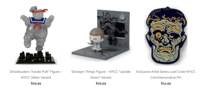 Loot Crate NYCC Exclusive Items Available Now in Loot Vault!