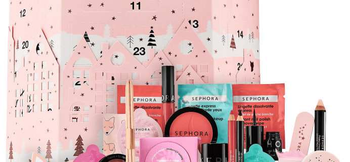 2017 Sephora Advent Calendar Available Now + Coupons