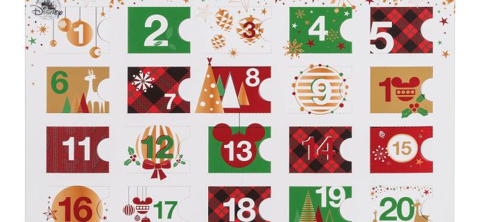 2017 Plush Tsum Tsum Disney Store Exclusive Advent Calendar Available Now!