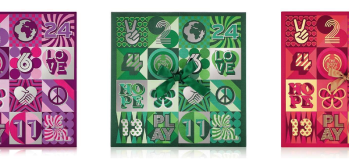 2017 Body Shop Beauty Advent Calendars Available Now + Full Spoilers!