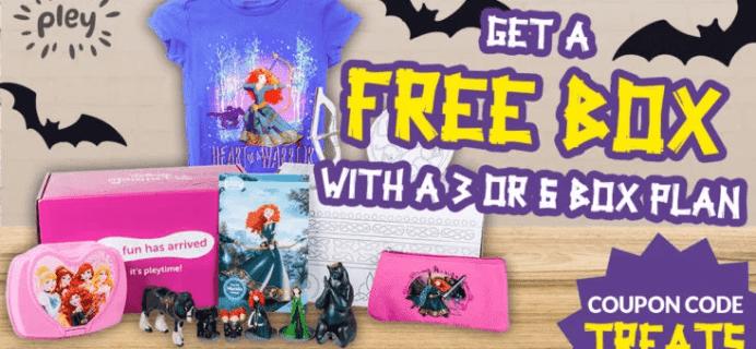 Disney Princess Pleybox Halloween Deal: FREE Box with 3+ Box Subscription!