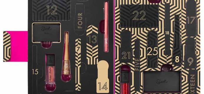 2017 Sleek MakeUp Advent Calendar Available Now!
