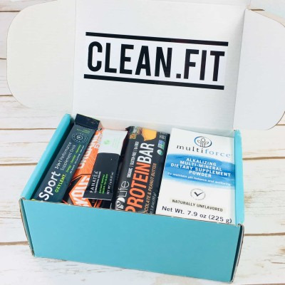 clean.fit September 2017 Subscription Box Review + Coupon!