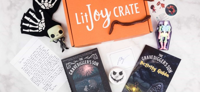 LitJoy Limited Edition Halloween Crate Review + Coupon – Middle Grade Crate