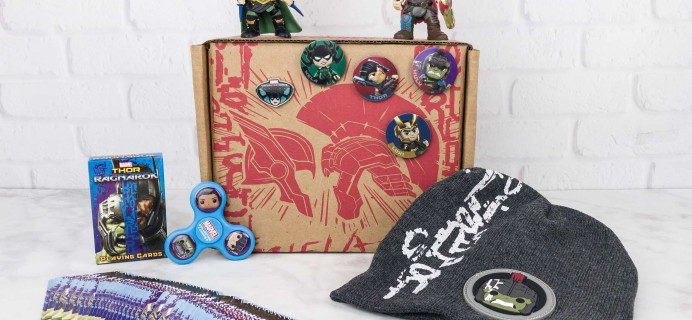 Marvel Collector Corps October 2017 Subscription Box Review – Thor: Ragnarok