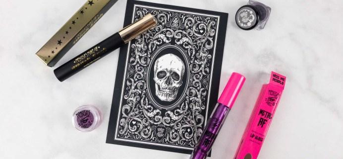 Medusa's Make-Up Beauty Box Subscription Box Review – October 2017