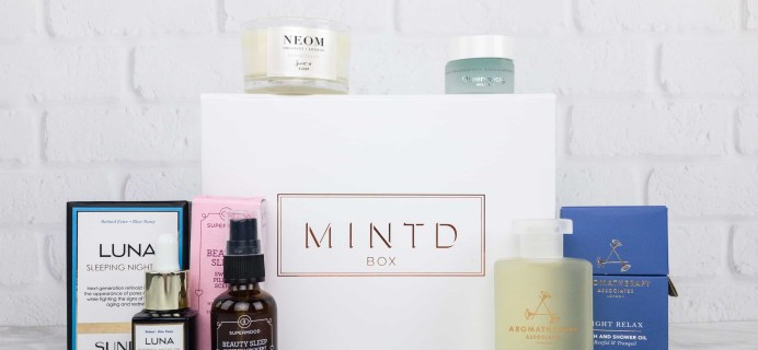 MINTD Box October 2017 Subscription Box Review + Coupon!
