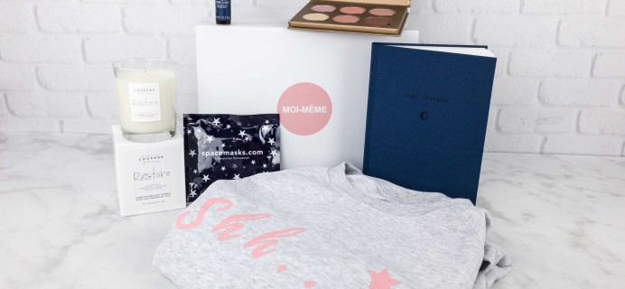 Moi-Même Autumn 2017 Subscription Box Review – The Sleep Box