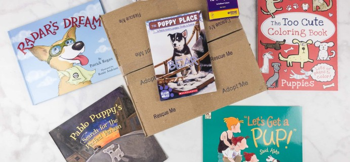 My Puppy Box 2017 Subscription Box Review – Rescue Box