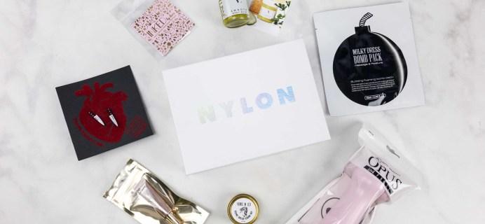 NYLON BOX October 2017 Subscription Box Review + Coupon