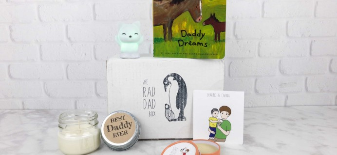 The Rad Dad Box September 2017 Subscription Box Review