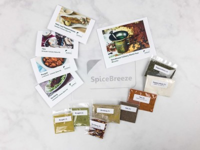 SpiceBreeze Subscription Box Review + Coupon – September 2017