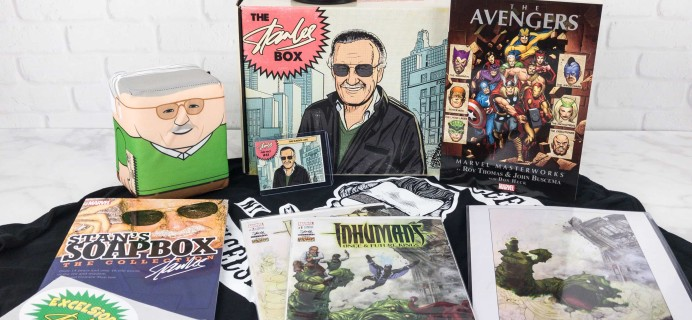 The Stan Lee Box September 2017 Subscription Box Review + Coupon!