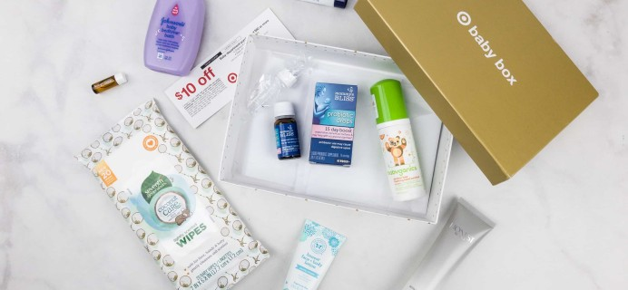 Target Baby Box Review – October 2017