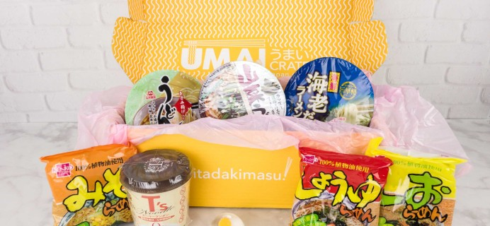 Umai Crate October 2017 Subscription Box Review + Coupon