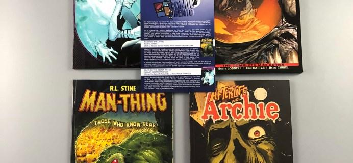 Comic Bento October 2017 Subscription Box Review & Coupon