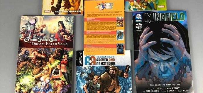 Comic Bento November 2017 Subscription Box Review