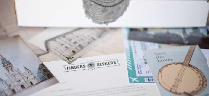Finders Seekers Black Friday Coupon: Get $5 Off off All Orders of Finders Seekers Mysteries