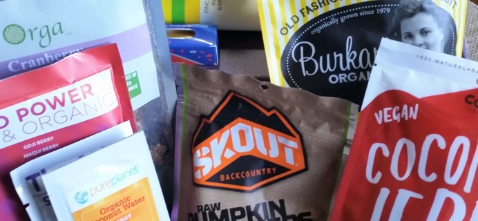 RawBox Fall 2017 Subscription Box Review + Coupon