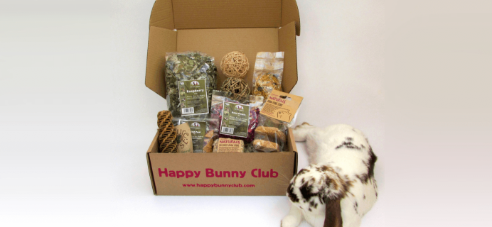 Happy Bunny Club 2017 Cyber Monday Coupon: Get 20% off your first month!