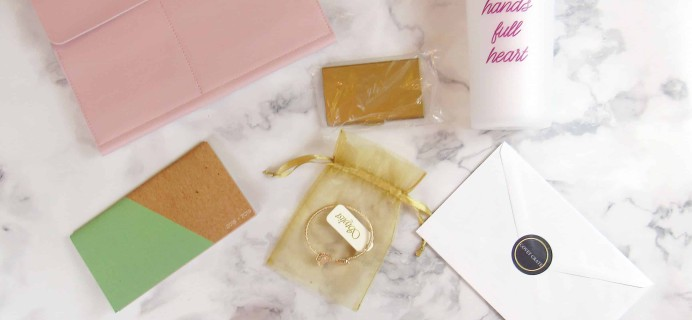Covet Crate November 2017 Subscription Box Review + Coupon