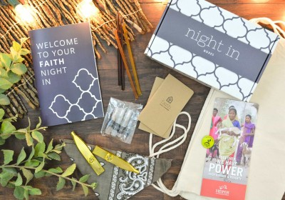 Faith Night In Subscription Box Sunday Deal: Save 20% on any subscription!