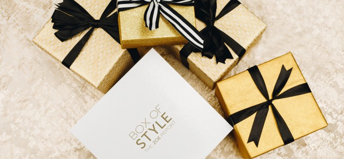 Box of Style by Rachel Zoe Winter 2017 FULL Video Reveal + Coupon!