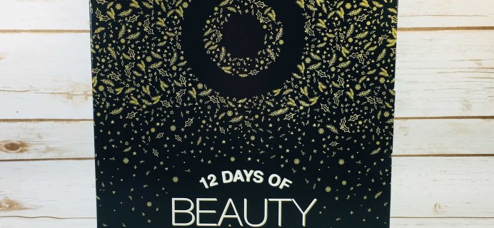 Target 12 Days of Beauty Faves Advent Calendar Mini Review 2017