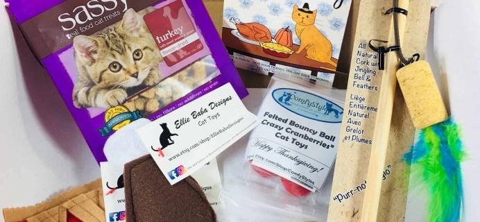 PetGiftBox November 2017 Cat Subscription Box Review + 50% Off Coupon