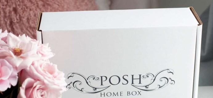 Posh Home Box March 2021 Theme Spoiler!