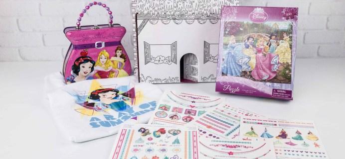 Disney Princess Pleybox November 2017 Subscription Box Review
