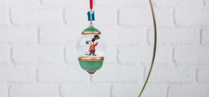 Disney Store 30th Anniversary Snowglobe Ornament Subscription November 2017 Subscription Box Review