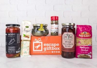 Escape GiftBox November 2017 Subscription Box Review + Coupon – Greece