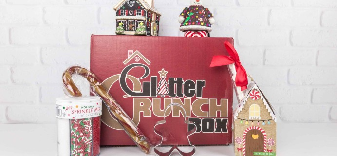 Glitter Crunch November 2017 Subscription Box Review