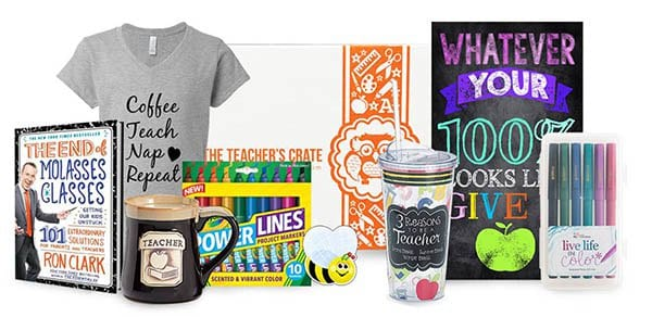 Teacher's Crate 2017 Cyber Monday Coupon: Get $5 off your first box!