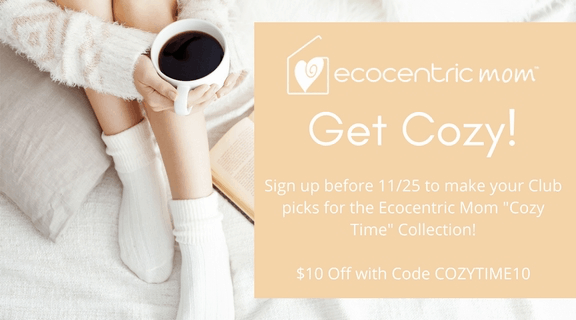 Ecocentric Mom Box December 2017 Spoilers + $10 Off Coupon!