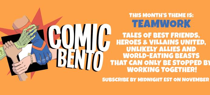Comic Bento November 2017 Theme Spoilers & Coupon!