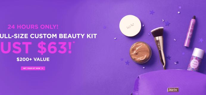 Tarte Create Your Own Beauty Kit – Extended!
