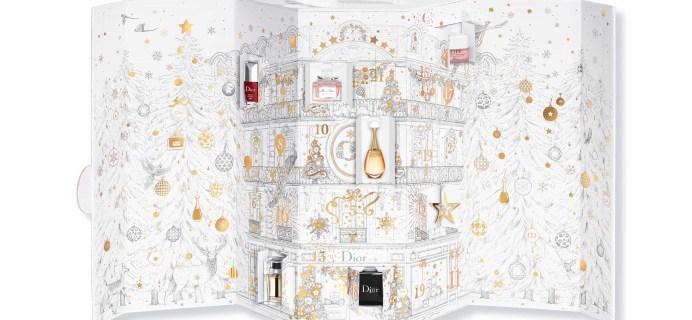 2017 Dior Advent Calendar Available Now!