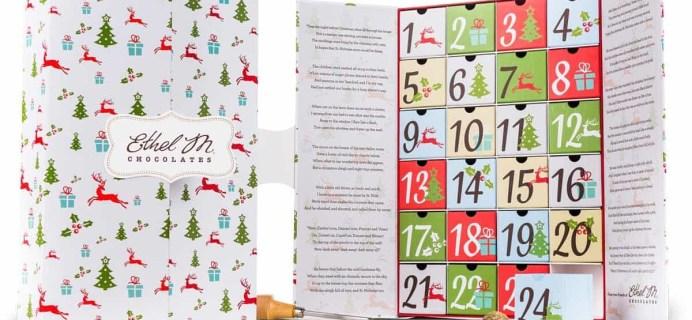 2017 Ethel M Chocolates Advent Calendar Available Now!