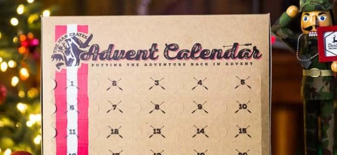 2017 Man Crates Jerky Advent Calendar Available Now!